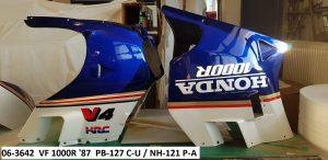 Honda VF1000R Bj.1987 in PB-127 C-U / NH-121 P-A RH-Lacke Lackiererei Motorradlackierung 06-3642