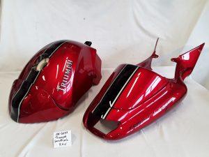 Triumph Speedtriple in R-4 C / NH-1 nach Kundenwunsch RH-Lacke Lackiererei Motorradlackierung 06-3677