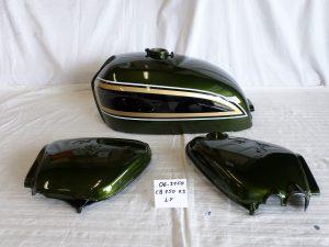 Honda CB750 K3 in LY candy bacchus olive RH-Lacke Lackiererei Motorradlackierung 06-3150