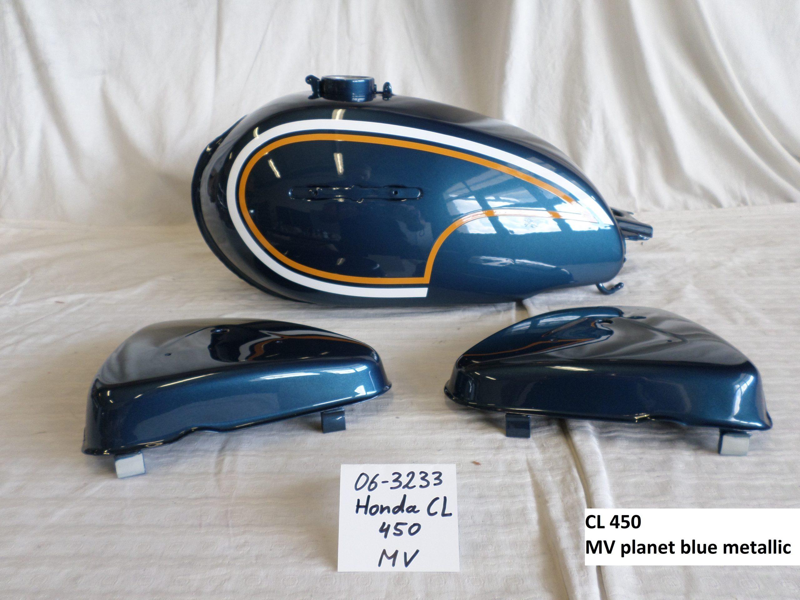 Honda CL450 in planet blue MV RH-Lacke Lackiererei Motorradlackierung 06-3233