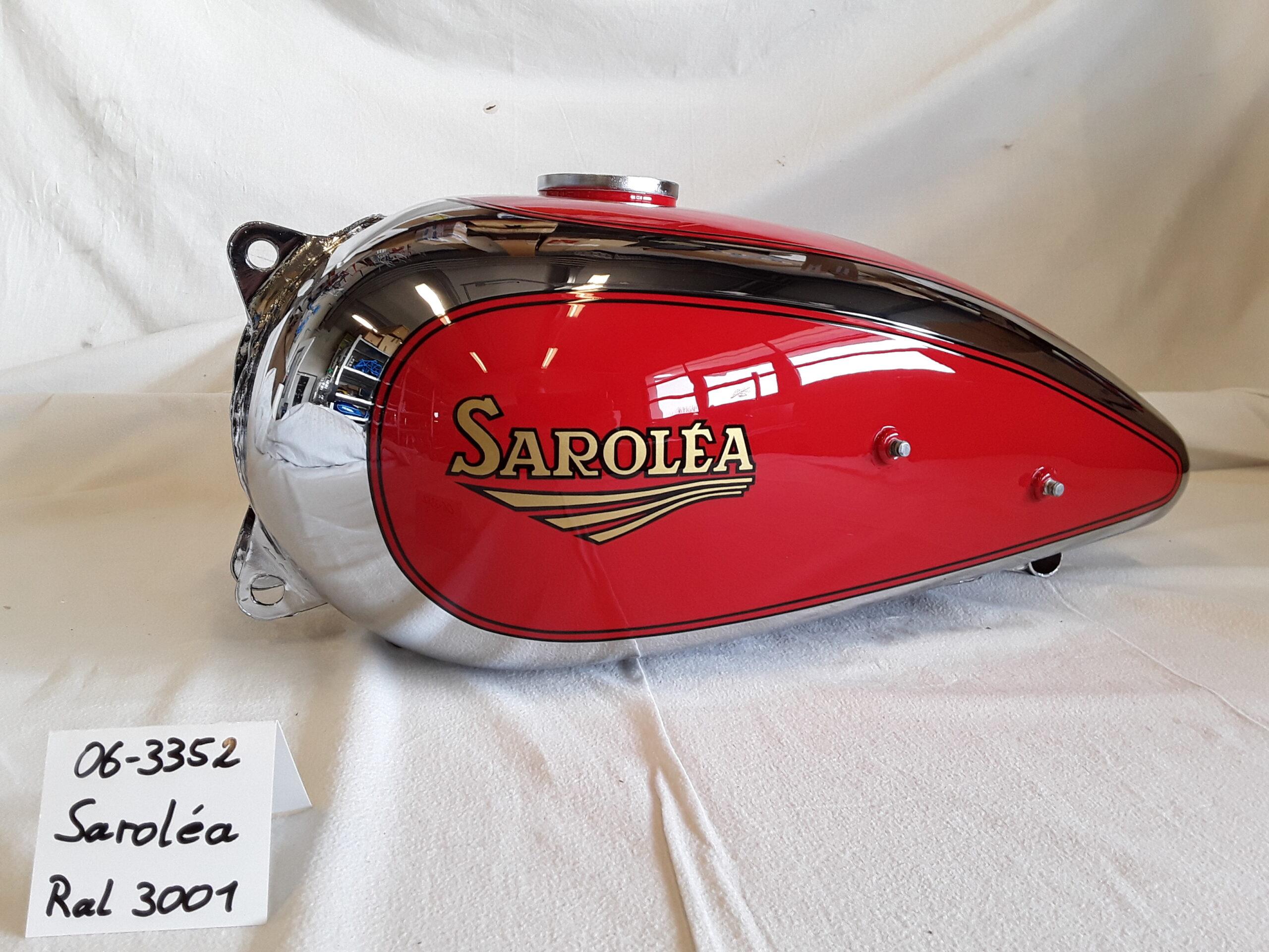 Saroléa in RAL 3001 RH-Lacke Lackiererei Motorradlackierung 06-3352