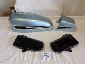 Suzuki GS1100 in glasial blue silver met. YD7 RH-Lacke Lackiererei Motorradlackierung 06-3418