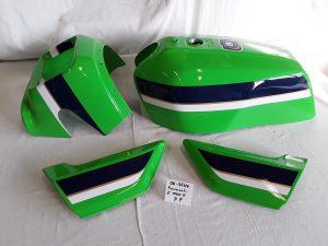 Kawasaki Z1000R in lime green 7F RH-Lacke Lackiererei Motorradlackierung 06-3641