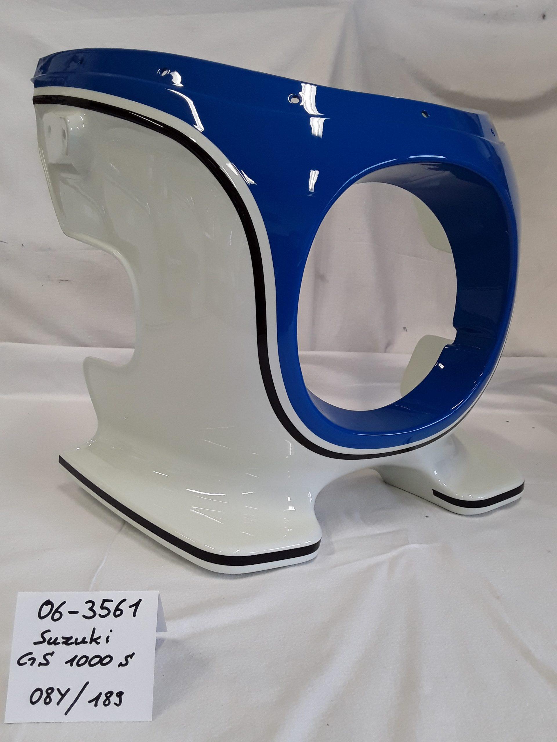 Suzuki GS1000S in racing blue 08Y und egret white 189 RH-Lacke Lackiererei Motorradlackierung 06-3561