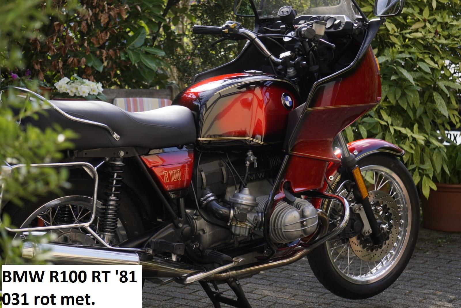 BMW R100RT in rot metallic 031 RH-Lacke Lackiererei Motorradlackierung 06-3669