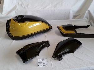 Kawasaki Zephyr 750 in candy tone green / yellow 2F RH-Lacke Lackiererei Motorradlackierung 06-3681