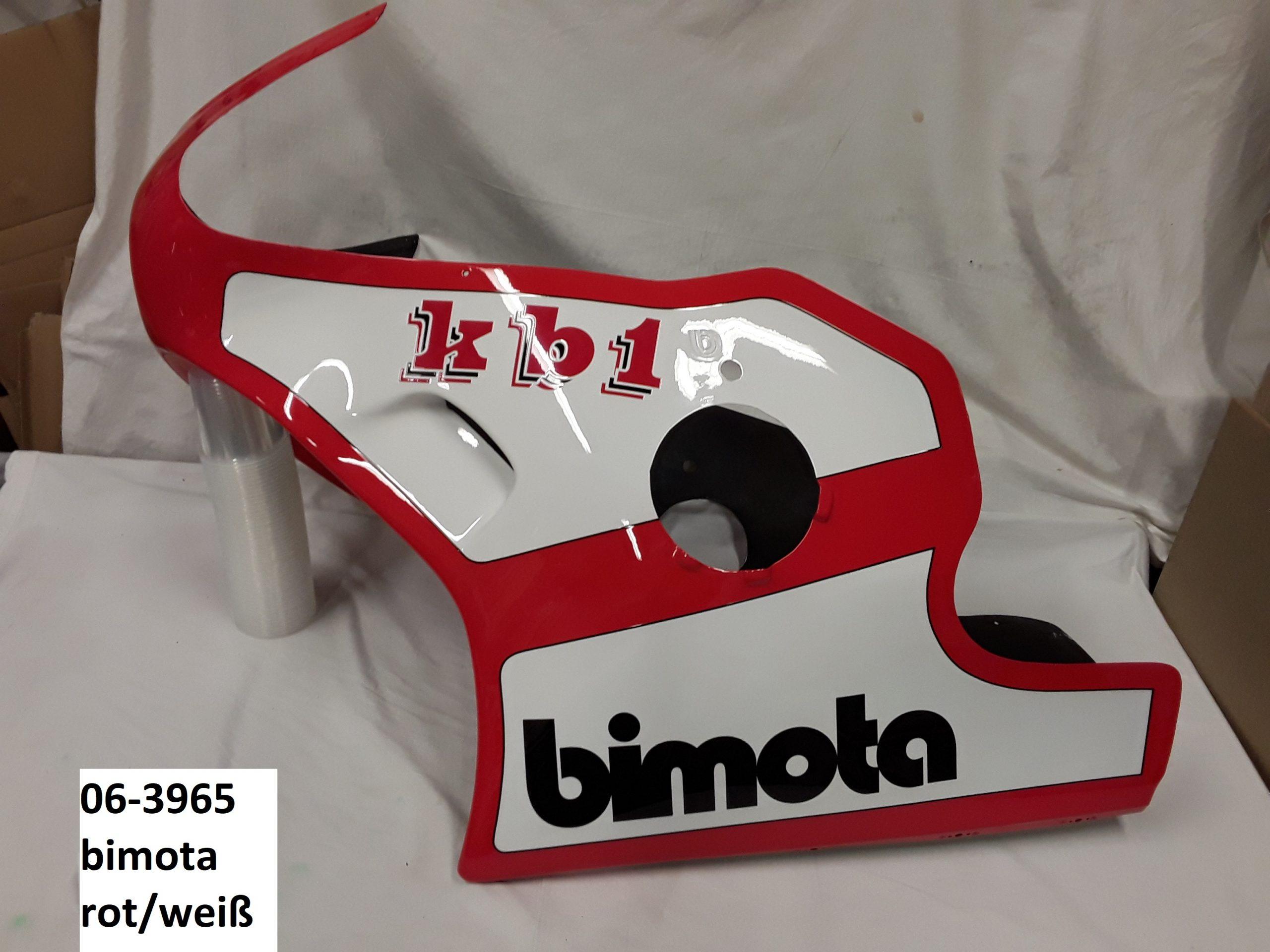 Bimota rot/weiß RH-Lacke Lackiererei Motorradlackierung 06-3965-1