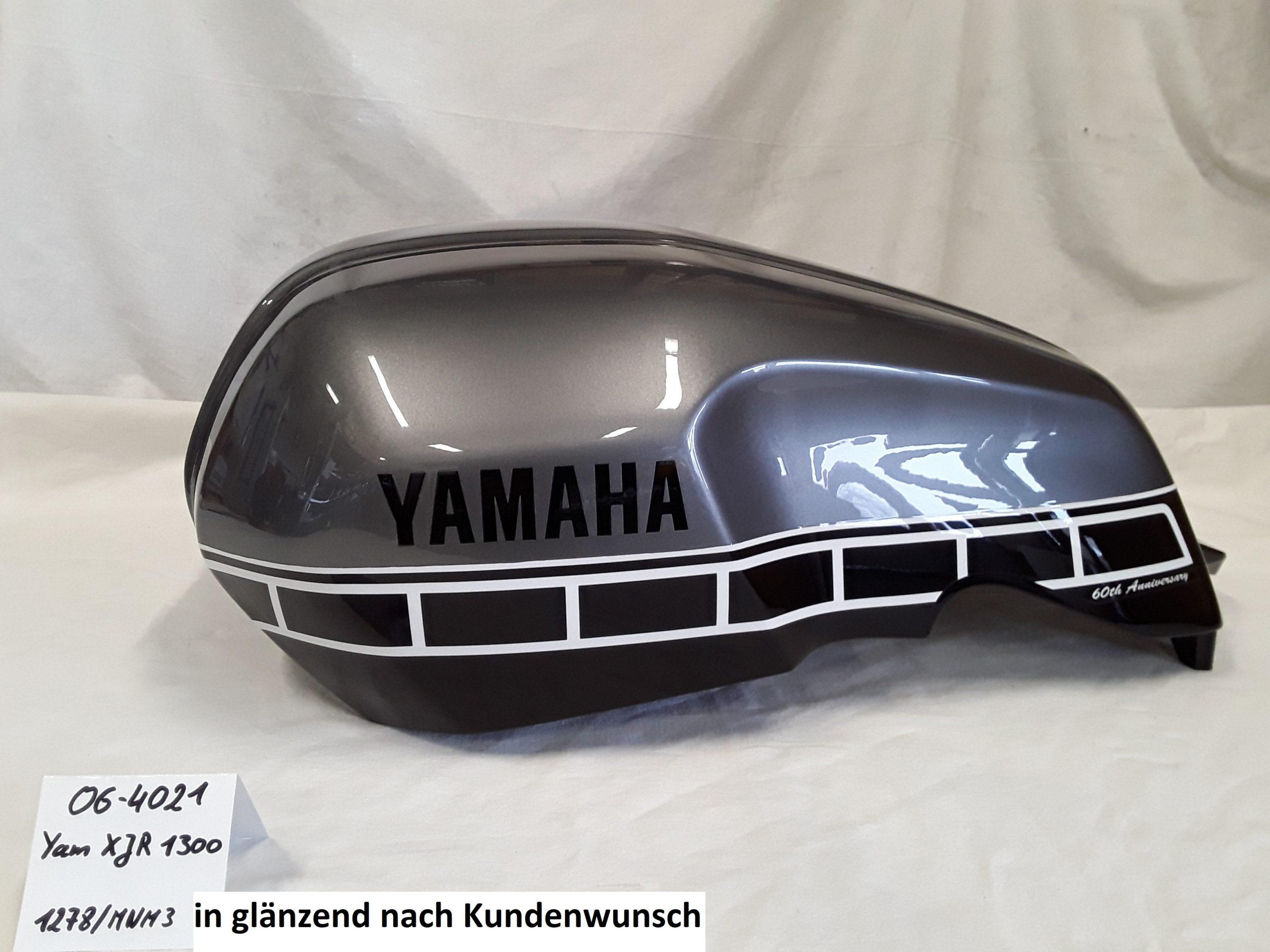 Yamaha XJR1300 nach Kundenwunsch in 1278/MNM3 glänzend RH-Lacke Lackiererei Motorradlackierung