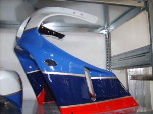 Honda R-134 fighting red NH-193 pearl crystal white PB-166 RC30 hellblau PB-186 seychell night blue RC30-Streifengold RH-Lacke Lackiererei Motorradlackierung