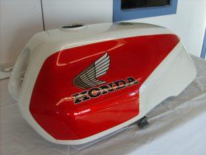 Honda CB1100 R Bj. 83 NH-121 pearl shell white R-124 candy alamoana red  RH-Lacke Lackiererei Motorradlackierung