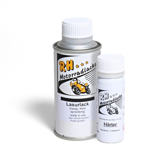 Spritzlack 125ml 2K Lasurlack 681942-10 mat white metallic 3