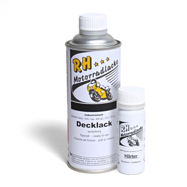 Spritzlack 375ml 2K Decklack 49-2033-1 2K-Motorlack schwarz matt metallic MT-09