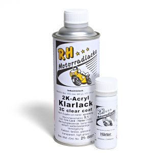 Spritzlack 375ml 2K Klarlack glaenzend 21-0007 oort gray met 3