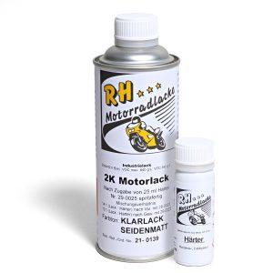 Spritzlack 375ml 2K Klarlack matt 21-0139 Motorlack grau met Z 900 18