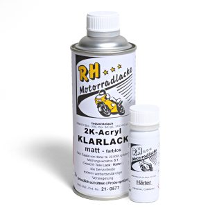 Spritzlack 375ml 2K Klarlack matt 21-0577 mat dark gray met A