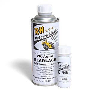 Spritzlack 375ml 2K Klarlack matt 21-0643 artic white silk matt