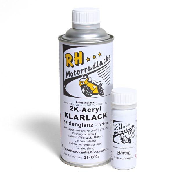 Spritzlack 375ml 2K Klarlack matt 21-0692 mat moonstone silver metallic