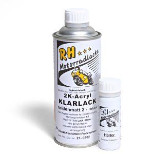 Spritzlack 375ml 2K Klarlack matt 21-0702 metallic mat carbon gray