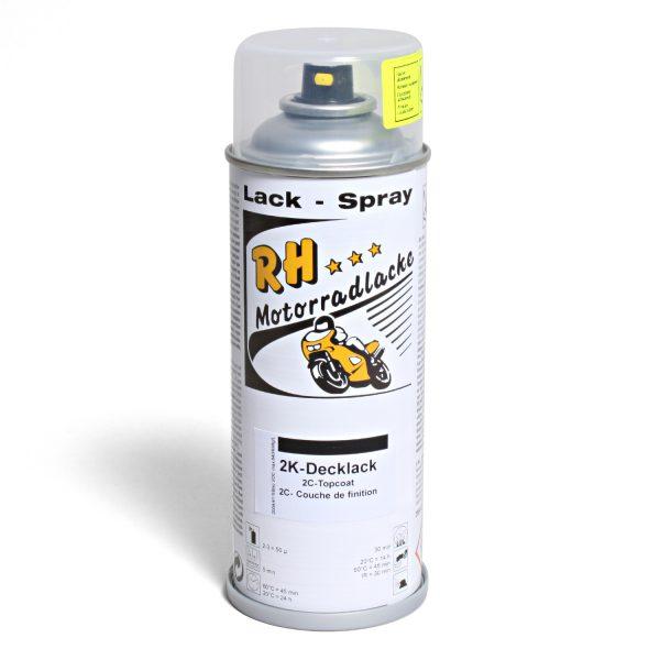 Spruehdose 400ml 2K Decklack zum Aktivieren 01-3736-14 mute black metallic