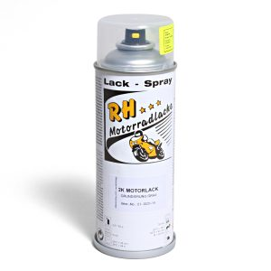Spruehdose 400ml 2K Motorlack-Grundierung 01-0031-14 mat dark gray metallic 6 tech black