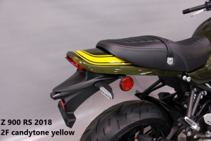 Kawasaki Z900RS in 2F candytone yellow RH-Lacke Lackiererei Motorradlackierung